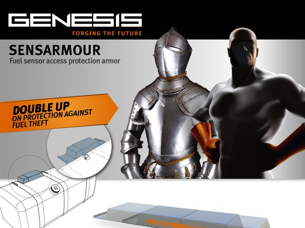Genesis Sensarmour Commercial Vehicle Fuel Sender Unit Access Protection