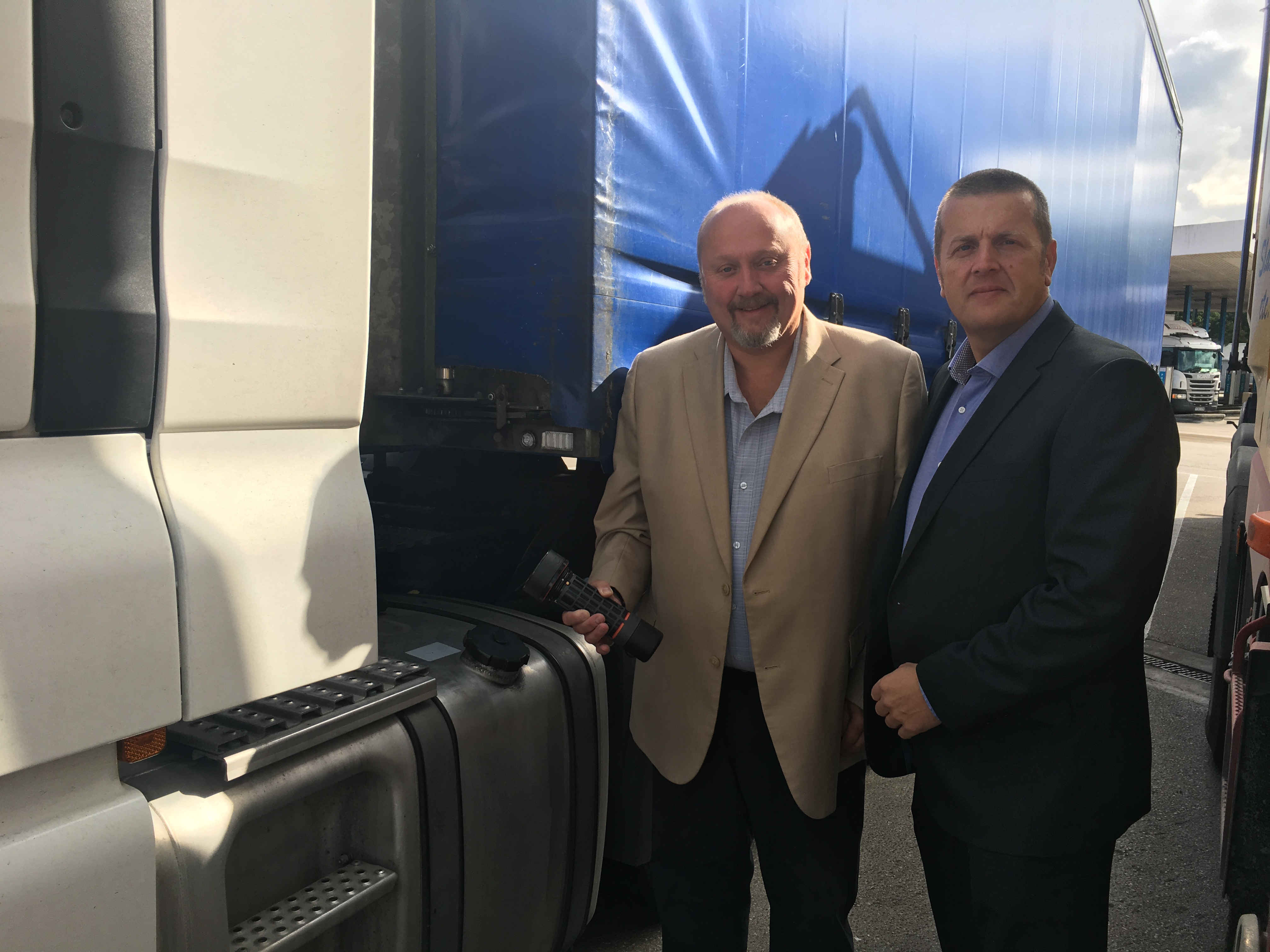 Fuel Theft Solutions has teamed up with Geoff Reyner, who will head up the sales of the Anti-siphon product range